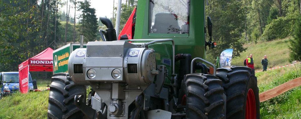 Vario - Spezialmaschine für den Einsatz im Forst